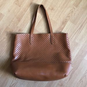 Jcrew perforated tote